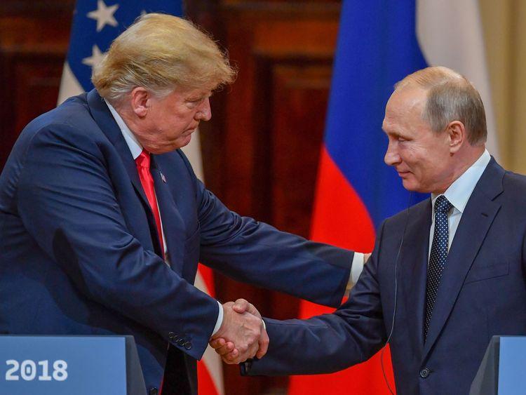 President Trump and President Putin denied collusion