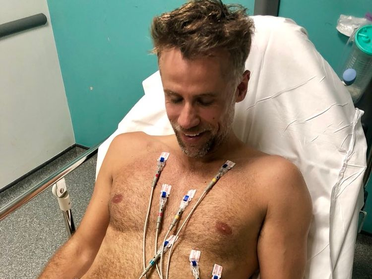 Richard Bacon: 'I was incredibly close to death'