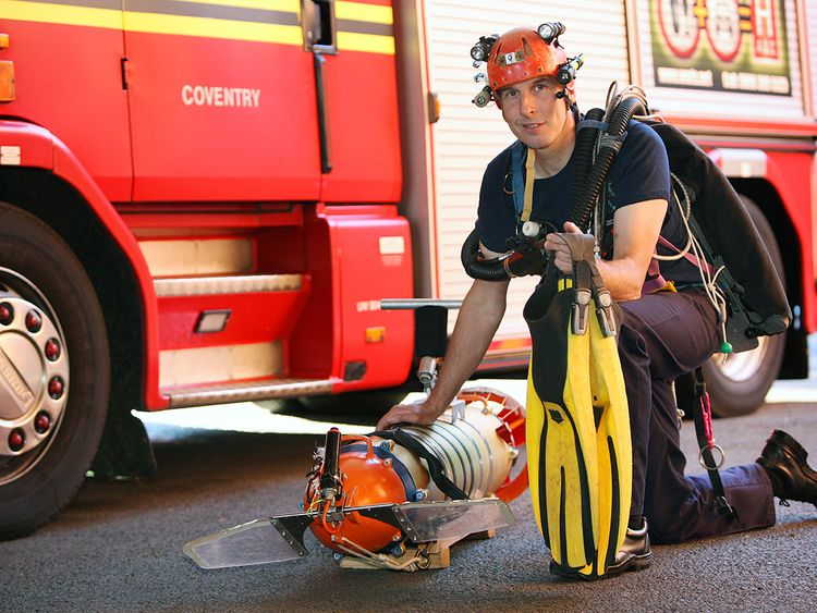 Richard Stanton. Pic: West Midlands Fire Service
