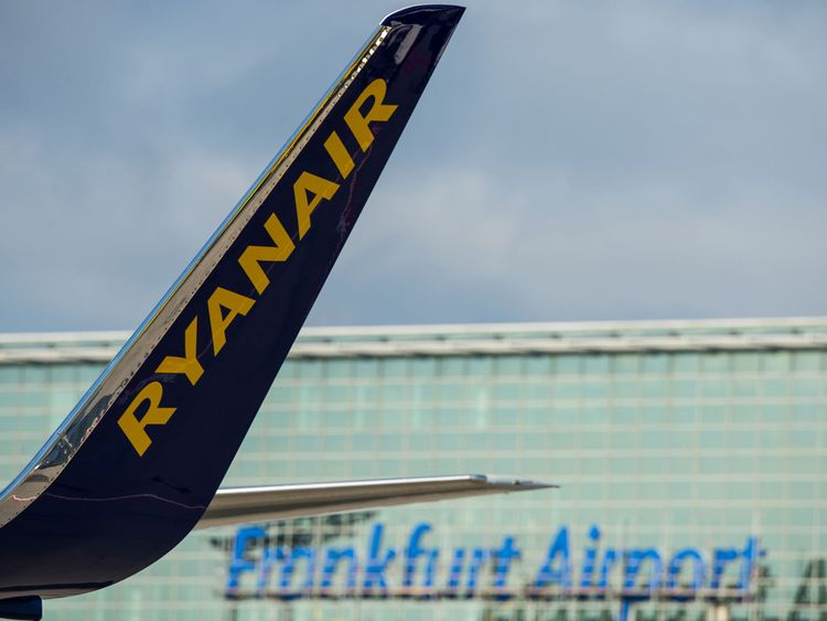 Hundreds of Ryanair flights cancelled over strikes
