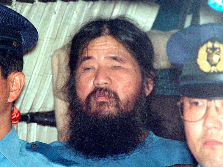 Japan executes 6 more of doomsday cult involved in 1995 sarin attack