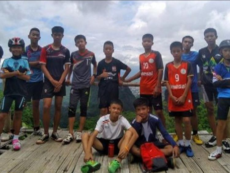 Rescuers searching for 12 missing boys and their football coach say they have all been found alive, officials in Thailand have said.