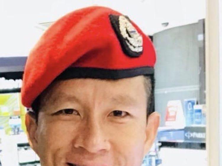Samarn Gunan was an ex Thai Navy diver