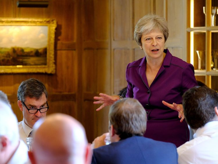 Theresa May's cabinet agreed on a Brexit plan