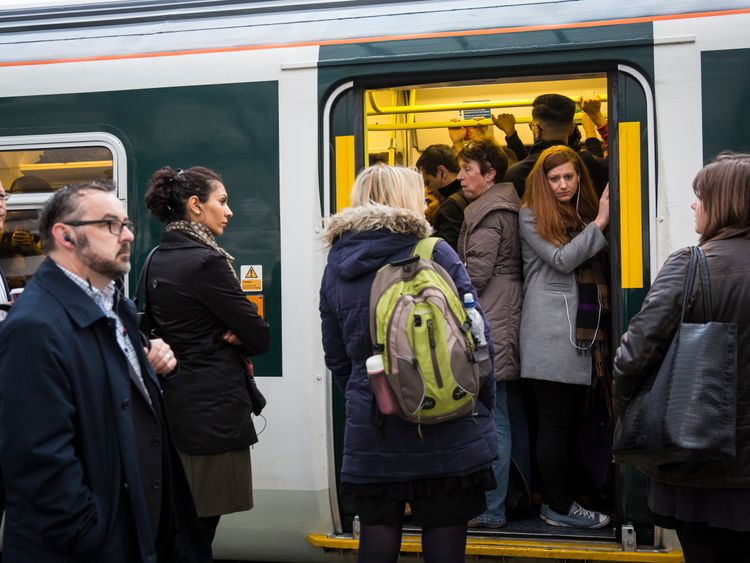 Thousands of people were left without a seat for their commute