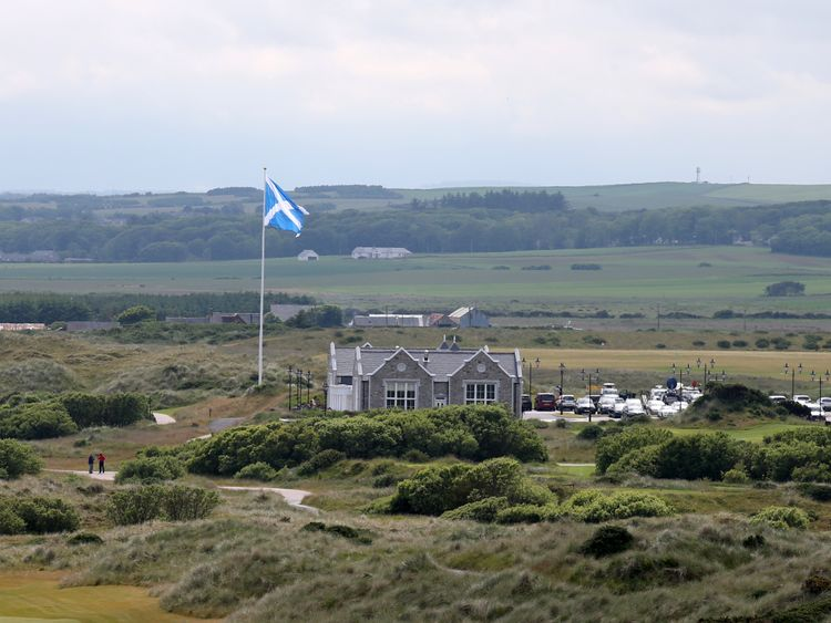 Trump business plans to invest €150m in Aberdeen