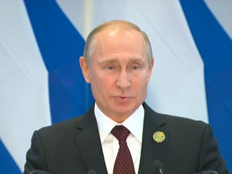 Vladimir Putin praises Donald Trump for keeping promises to voters