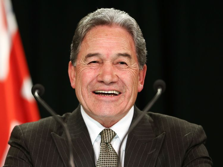 Winston Peters is serving as acting Prime Minister while Jacinda Ardern is on maternity leave.