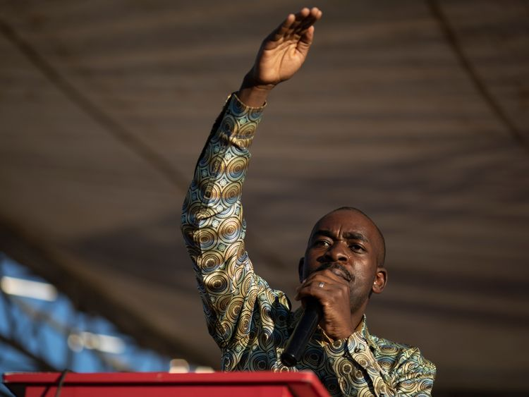 Nelson Chamisa is unconvinced about President Mnangagwa's recent changes
