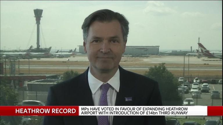 John Holland-Kaye, chief executive of Heathrow Airport