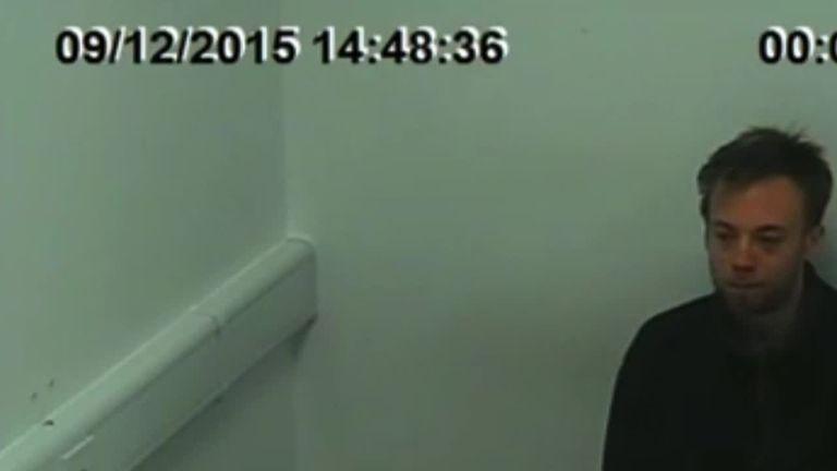 Jack Shepherd in a police interview after the fatal speedboat crash