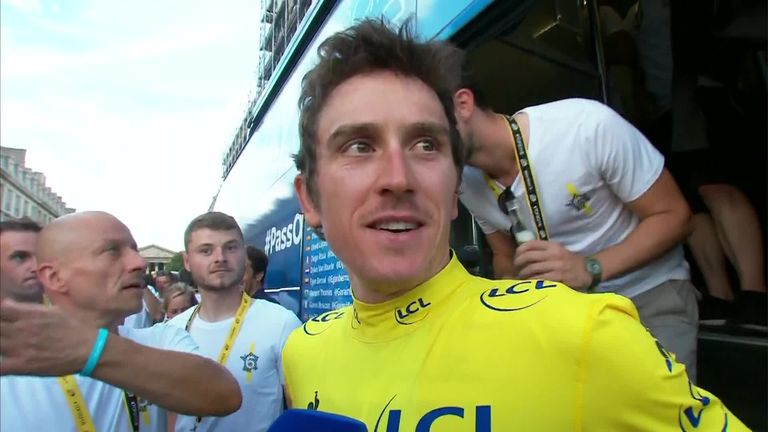 Tour de France 2018: Geraint Thomas secures yellow jersey