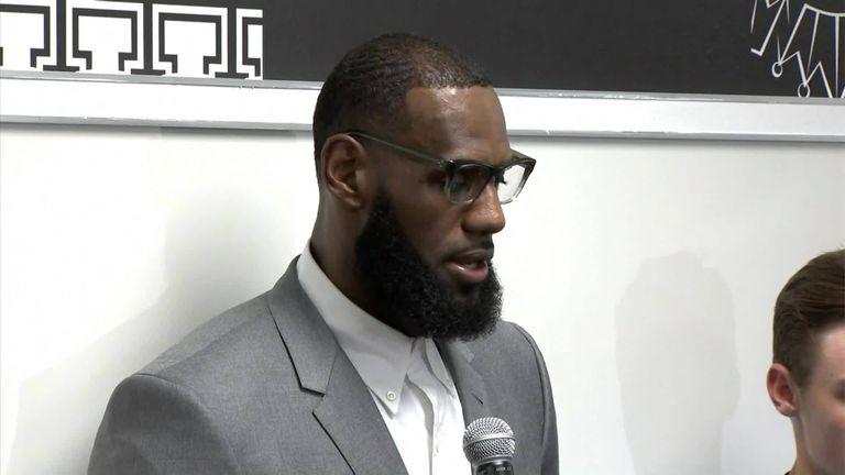 LeBron James Opens I Promise School In Hometown Of Akron, Ohio