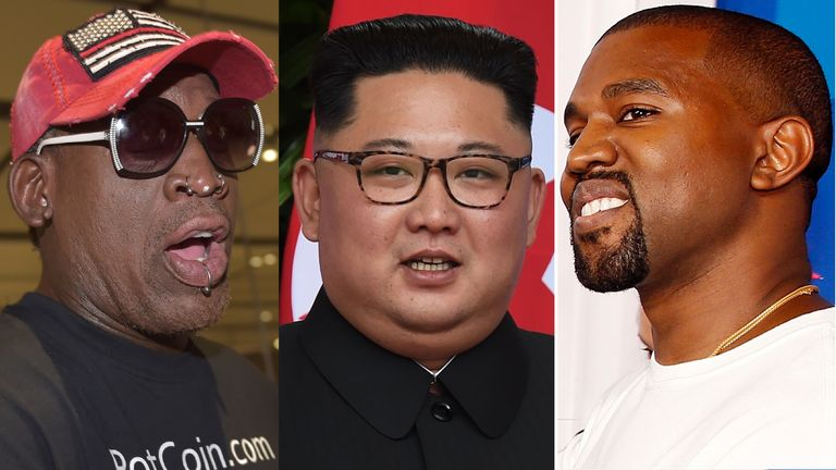 Dennis Rodman says he wants to take Kanye West to North Korea