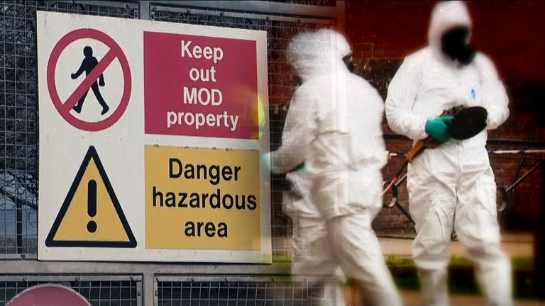 A man and woman left critically ill in Amesbury were exposed to novichok, the Metropolitan Police's counter-terror chief has confirmed