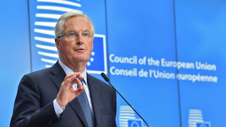 Chief EU negotiator for Brexit Michel Barnier