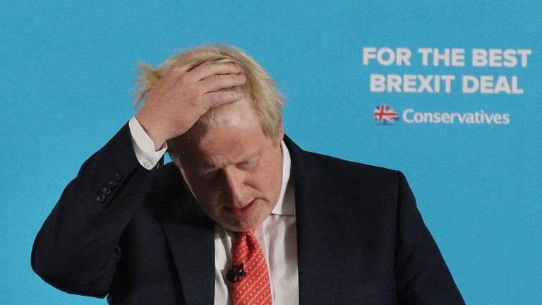 Boris Johnson has stepped down in protests against the Cabinet's plans to keep close ties with the EU after Brexit