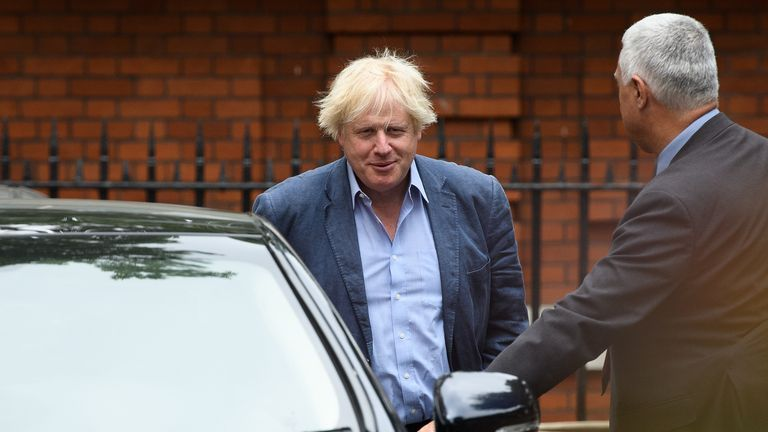 Boris Johnson's resignation was a blow to Theresa May's cabinet