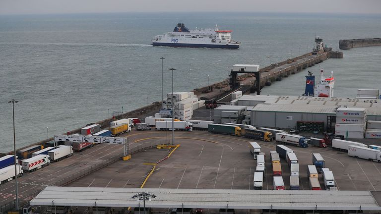 There have been fears of gridlock at Dover