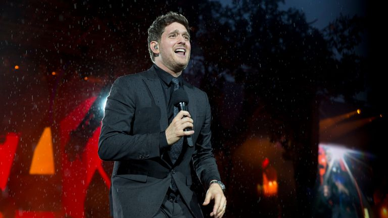 Buble closed the set with a moving rendition of You Were Always On My Mind