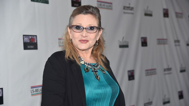 Carrie Fisher will feature in the next Star Wars film
