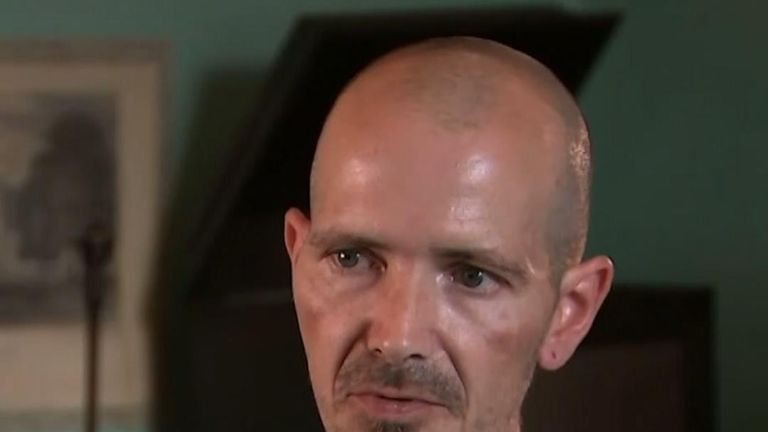 Novichok victim Charlie Rowley gives first TV interview