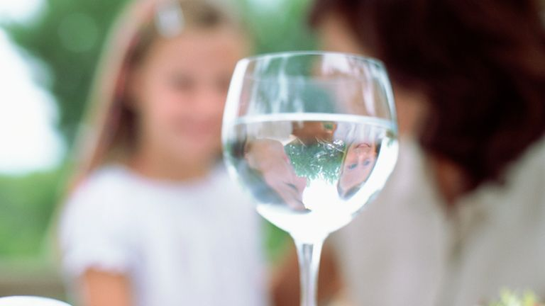 Many children across the UK are growing up with alcoholic parents