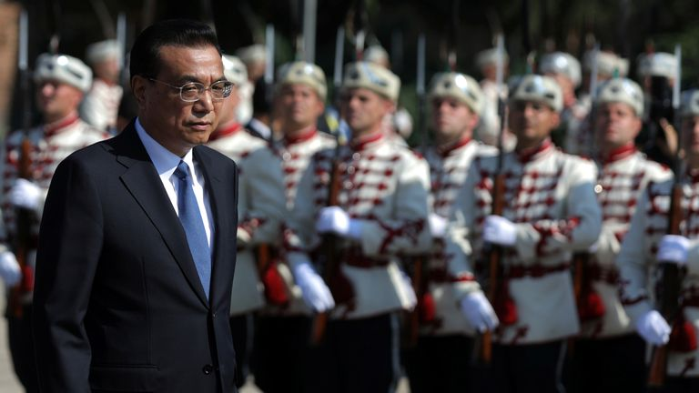 Chinese Premier Li Keqiang says a trade war 'is never a solution'