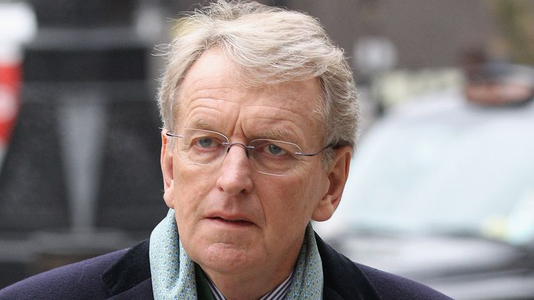 Sir Christopher Meyer, the former Chairman of the Press Complaints Commission, arrives at the High Court to give evidence to the Leveson Inquiry on January 31, 2012