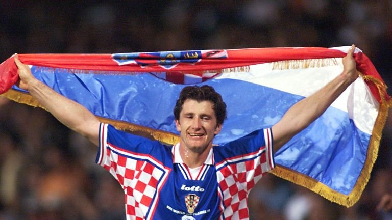 Davor Suker was the golden boot winner in 1998's tournament
