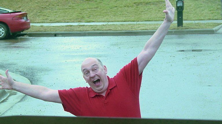 "Chuck Lamb announces his retirement as the ""Dead Body Guy"". Pic: DeadBodyGuy.com"