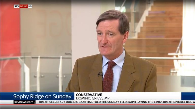 Dominic Grieve on Sophy Ridge