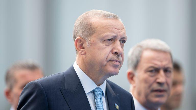 Turkey President Tayyip Erdogan criticises Israel's new-state law