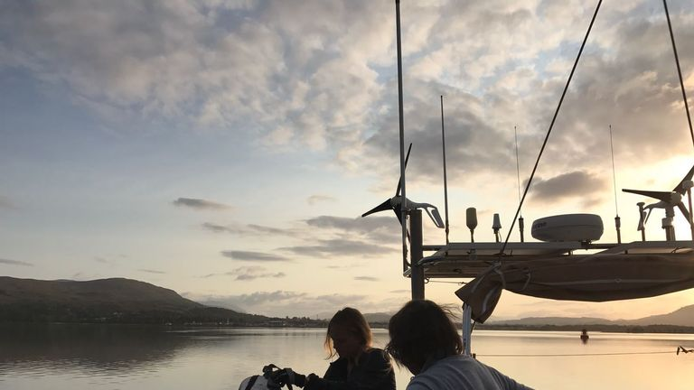 The all-female crew of 24 sailed over 3,000 nautical miles from Hawaii to Vancouver.