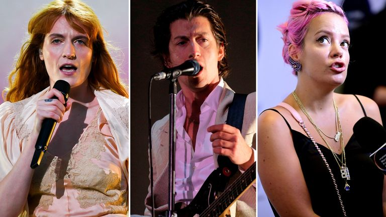 Florence + The Machine, Arctic Monkeys and Lily Allen all made the Mercury shortlist