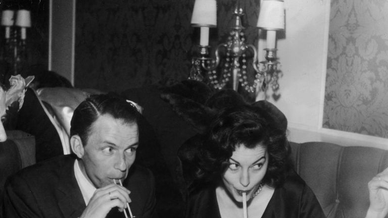 Sinatra married Ava Gardner after an affair