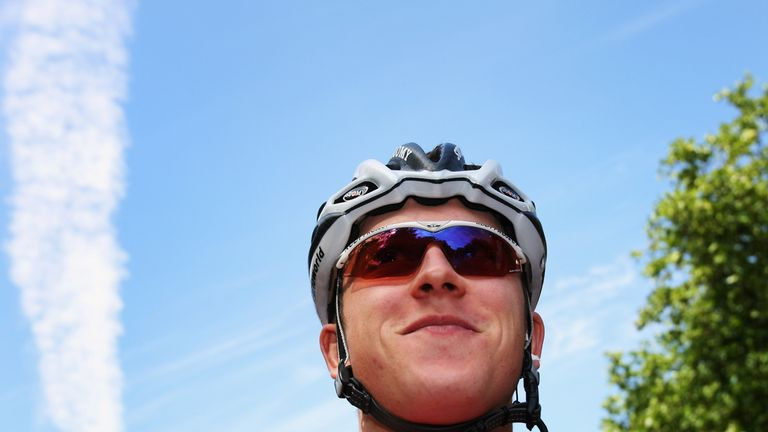 LONDON - JULY 08: Portrait of Geraint Thomas of Great Britain and the Barloworld team prior to the start of Stage One of the Tour de France between London and Canterbury on July 8, 2007 in London, England. (Photo by Bryn Lennon/Getty Images)