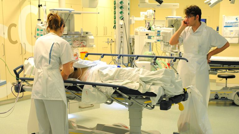 Does German healthcare sacrifice care of the elderly in