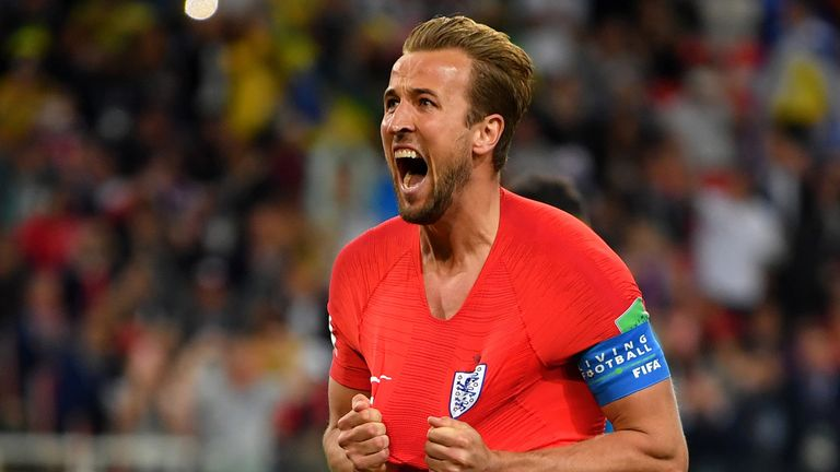 Harry Kane opened the scoring from the spot