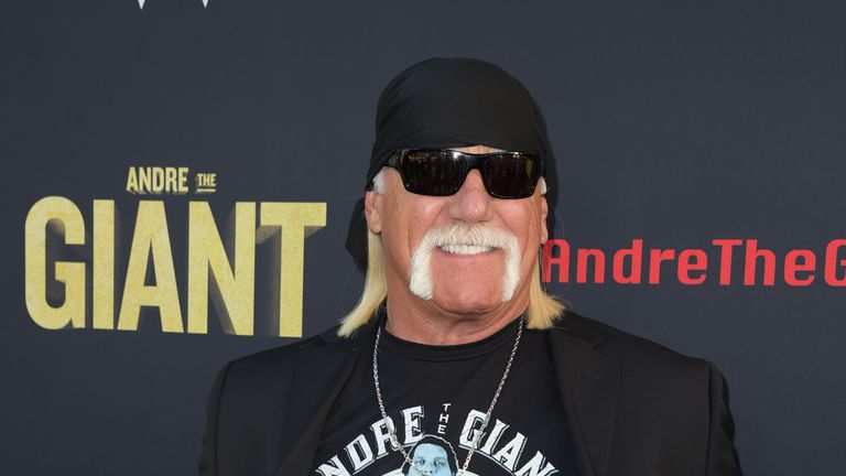 """at the premiere of HBO's """"Andre The Giant"""" at the Cinerama Dome on March 29, 2018 in Los Angeles, California."""