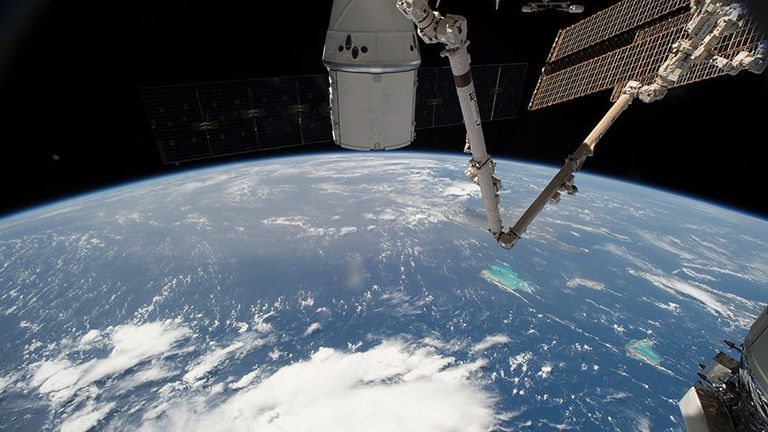 The International Space Station is home to astronauts carrying out different types of research