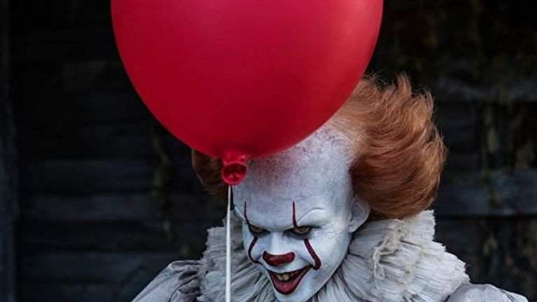 Bill Skarsgard  plays Pennywise the Dancing Clown in It