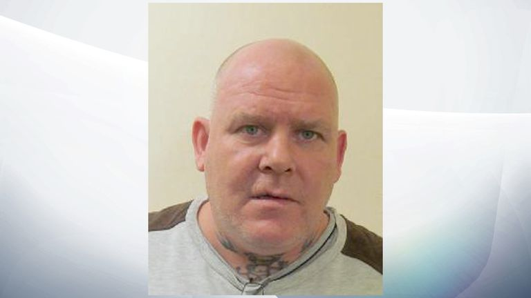 John Potter, 52, has absconded from HMP Sudbury in Derbyshire