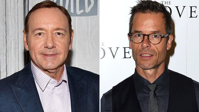 Kevin Spacey and Guy Pearce