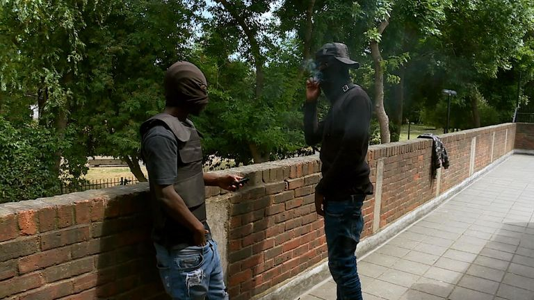 Young black men in London are being slaughtered at a rate way out of proportion to the population in the city - as gang wars rage on in the capital.  Sky News has spent months speaking with London's fiercest gangs as part of an investigation into this year's increase in gang-related violence.