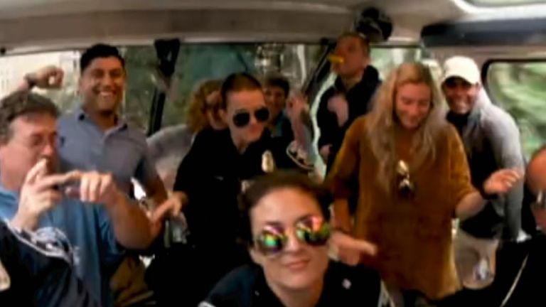 Seattle Police Department release their music video in the latest 'lip-sync' challenge