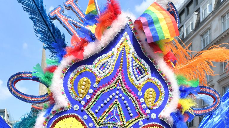 This year's parade has been described as the 'most diverse' yet