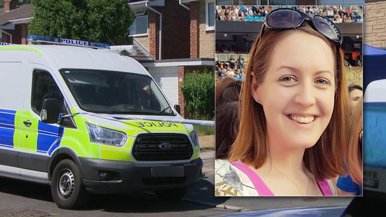 Lucy Letby's house is being searched by police