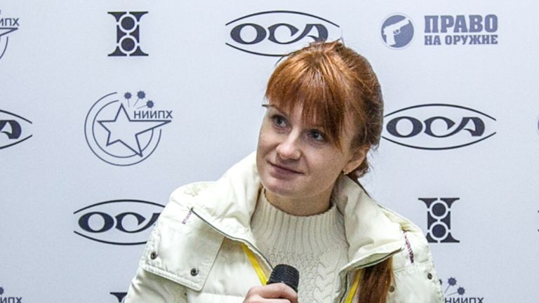 Maria Butina faces an additional charge of working on behalf of the Russian government