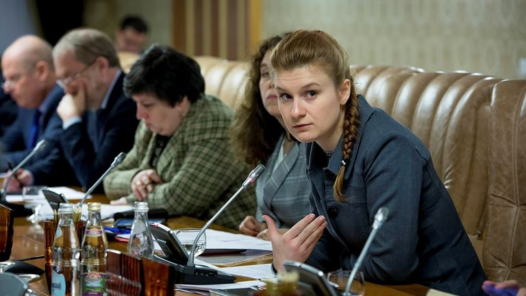 Maria Butina has been charged with infiltrating US political organisations